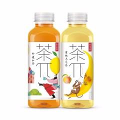 茶π 茶派 蜜桃乌龙茶 柠檬红茶900ml 蜜桃乌龙