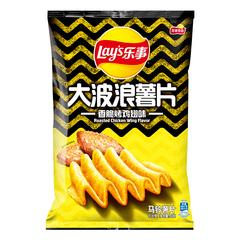 乐事(Lay's) 大波浪薯片 香脆烤鸡翅味 香脆烤鸡翅味