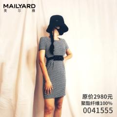 美尔雅 连衣裙0041555 实拍图 9码