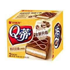 好丽友 Q蒂蛋糕(摩卡巧克力味) 2枚/盒