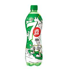7喜 碳酸饮料600ML/瓶