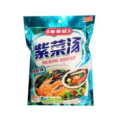 年年旺 鲜虾味紫菜汤72g (调料包6包+油包6包)