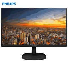 飞利浦 23.8英寸 IPS技术屏 1080P全高清 电脑显示器 商务办公 243i7QSB 23.