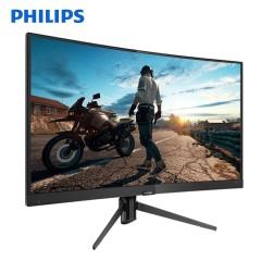 飞利浦 242M7 23.6英寸 144Hz刷新率曲面电竞显示器 游戏电脑屏幕 窄边框 可挂壁 23
