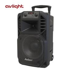 爱浪(Avlight) DT无线户外便携蓝牙拉杆电瓶音箱HIFI广场舞台大功率音响 DT10