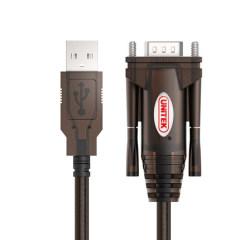 优越者 串口转USB Rs232串口线9针转换线转接器 九针串口线 1.5米