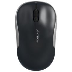 双飞燕(A4TECH) G3-300N 无线鼠标 办公鼠标 笔记本鼠标(亮黑) 黑色