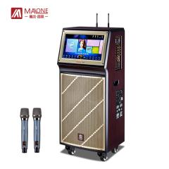 曼龙(MALONE) KT-815KTV点歌机2T硬盘无线WIFI视频音响19英寸触摸屏拉杆音响 曼
