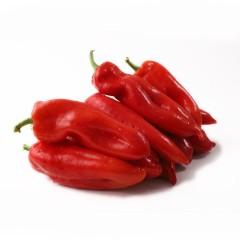 新鲜大红辣椒 灯笼椒 大红椒 约2斤