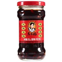 老干妈 辣椒酱 风味豆豉油280g