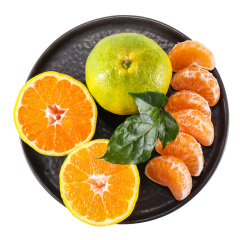 东江湖新鲜青皮橘水果500g(±50g)