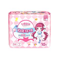 七度空间日用纯棉卫生巾 10片