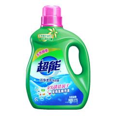 超能 洁净柔护洗衣液(自然清香) 3kg
