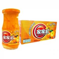 家家红 橘子罐头 12瓶装 新旧包装随机