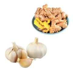 生姜 蒜坨组合 约一斤
