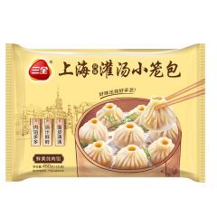 三全上海灌汤小笼包 450g