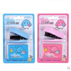 晨光 cocoja卡通订书机套装 粉色