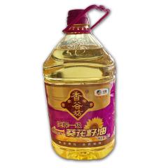 中粮 香谷坊 压榨一级葵花籽油  5升