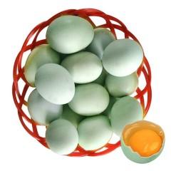 绿壳 散养土鸡蛋 10枚