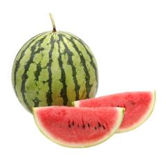 军垦农场本地自然熟沙瓤 西瓜一个 中瓜7-9斤