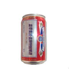蓝狮特制啤酒 蓝带 330ml 6听装