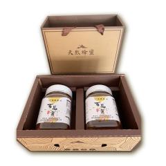 楚维康 原生态蜂蜜 2瓶礼盒装 洋槐蜜500+枣花蜜500g