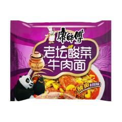 康师傅 老坛酸菜牛肉面(袋装)