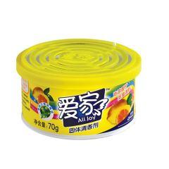 爱家固体清新剂柠檬味70g
