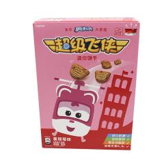 亿滋超级飞侠迷你饼干蔓越莓味120g