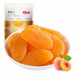百草味黄桃干56g