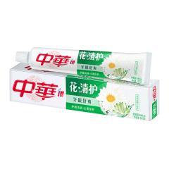 中华 (Zhong Hua) 牙膏 140g 花清护清菊百合味