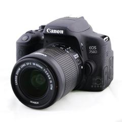 佳能(Canon) EOS 750D 单反相机入门级 照相机 18-55mm IS STM套机