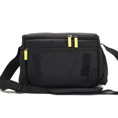 尼康(NIKON)原装定制 黑色单反相机包 单肩斜跨摄影包 适用d7200 D750