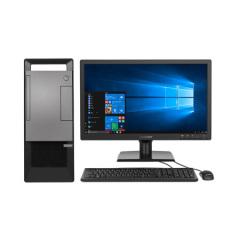 联想(Lenovo)扬天T4900v 商用台式电脑整机 (I3-8100 4G 500G英寸